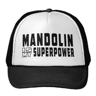 Mandolin Is My Superpower Cap