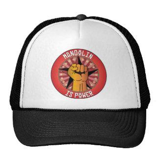 Mandolin Is Power Trucker Hats