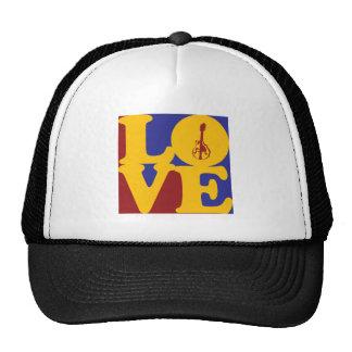 Mandolin Love Mesh Hat