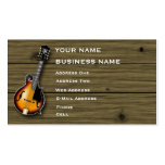 Mandolin - Music Business Card