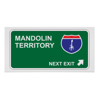 Mandolin Next Exit Poster