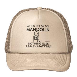 Mandolin Nothing Else Matters Mesh Hat