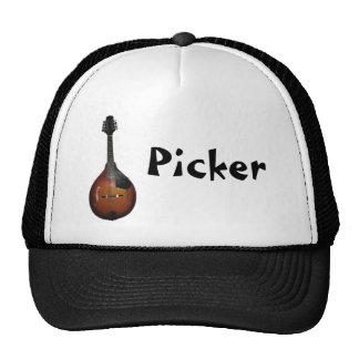 Mandolin Picker Mesh Hats