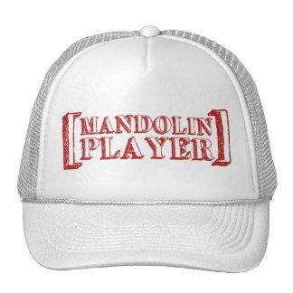 Mandolin Player Cap