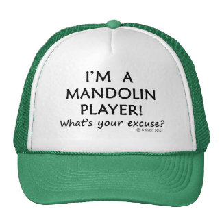 Mandolin Player Excuse Cap