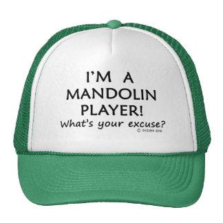 Mandolin Player Excuse Trucker Hats
