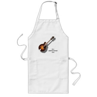 MANDOLIN PLAYING COOK-APRON LONG APRON