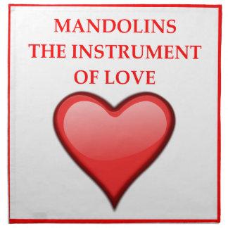 MANDOLINS NAPKIN