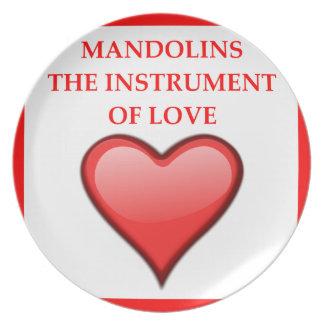 MANDOLINS PLATE