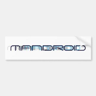 MANDROID STICKER