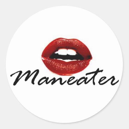 Maneater Sticker