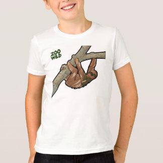 Maned Three Toed Sloth T-Shirt