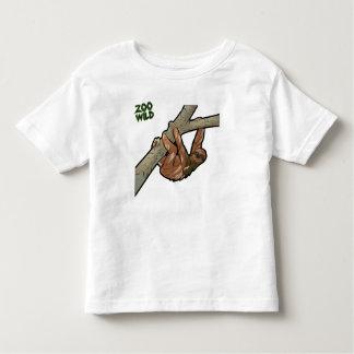 Maned Three Toed Sloth Toddler T-Shirt