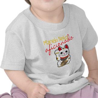 Maneki Neko Aficionado Shirts