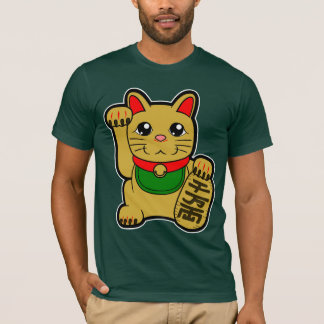 Maneki Neko: Gold Lucky Cat T-Shirt