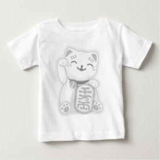 maneki neko gray tee shirt