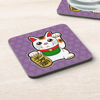Maneki Neko: Japanese Lucky Cat Coaster