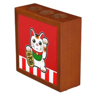 Maneki Neko: Japanese Lucky Cat Desk Organiser