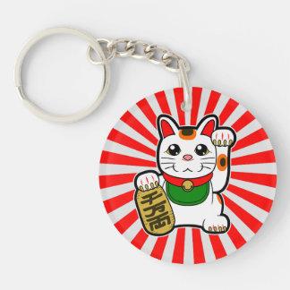 Maneki Neko: Japanese Lucky Cat Key Ring