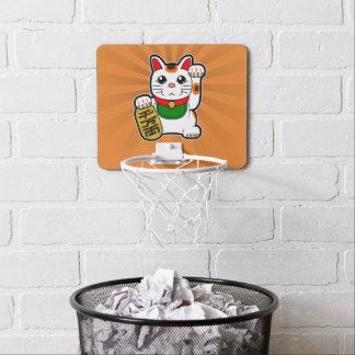 Maneki Neko: Japanese Lucky Cat Mini Basketball Hoop