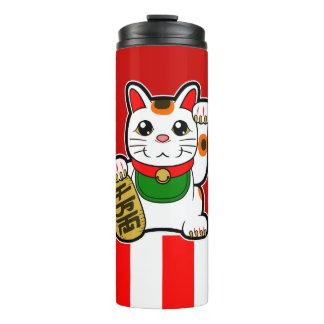 Maneki Neko: Japanese Lucky Cat Thermal Tumbler