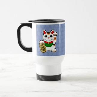 Maneki Neko: Japanese Lucky Cat Travel Mug