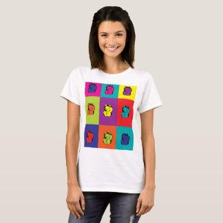 Maneki Neko Kitty Cat Pop Art T-Shirt