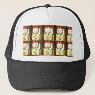 Maneki-neko, Lucky cat, Winkekatze Trucker Hat