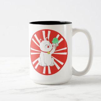 Maneki Neko Tokyo Cat Mug