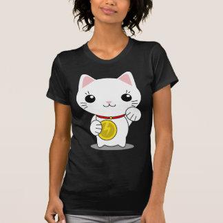 Maneki Neko - White Lucky Cat T-Shirt
