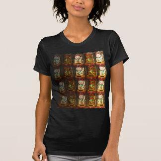 Maneki-neko Winke-Glueckskatzen, Winkekatze Shirt