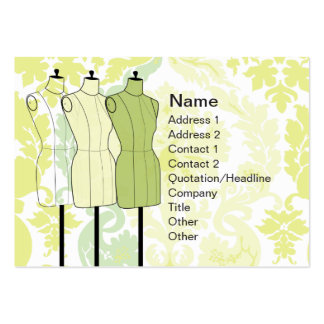 Manequins - Chubby Business Card Templates