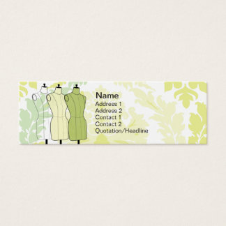 Manequins - Skinny Mini Business Card