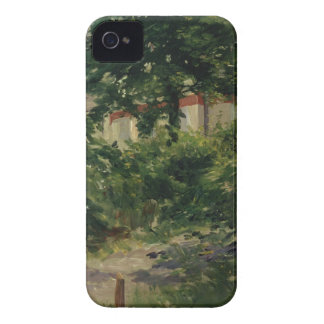 Manet   A Corner of the Garden in Rueil, 1882 Case-Mate iPhone 4 Cases
