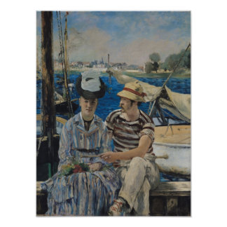 Manet | Argenteuil, 1874 Poster