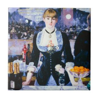 Manet Bar at the Folies Bergere Ceramic Tile