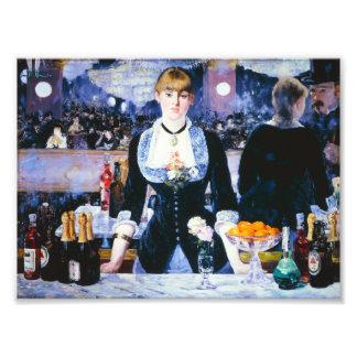 Manet Bar at the Folies Bergere Print