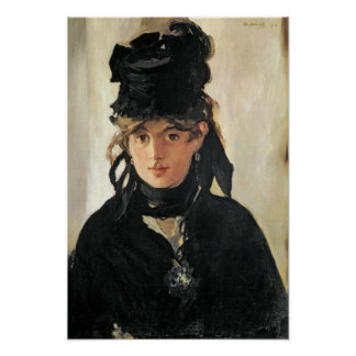 Manet | Berthe Morisot with a Bouquet of Violets Poster