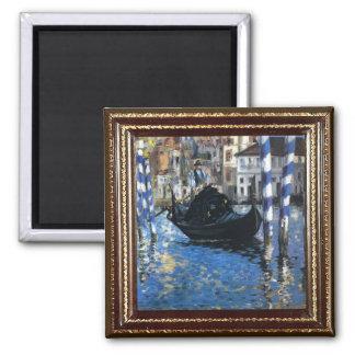 Manet Blue Venice Masterpiece Magnet