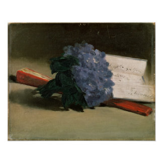 Manet | Bouquet of Violets, 1872 Poster