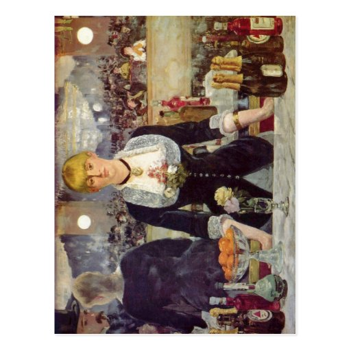 Manet, Edouard Bar in den Folies-Berg?re Espa?ol:  Post Cards