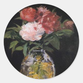 Manet Flower Bouquet Sticker