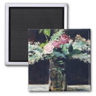Manet Flowers Fine Art Magnet Magnets