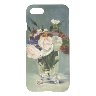 Manet Flowers iPhone 7 Clear Case