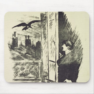 Manet   Illustration for 'The Raven' Mouse Pad