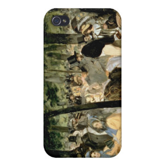 Manet   Music in the Tuileries Gardens, 1862 Case For The iPhone 4