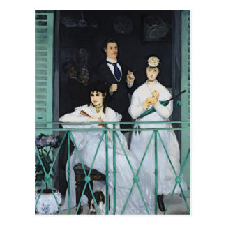 Manet | The Balcony, 1868-9 Postcard
