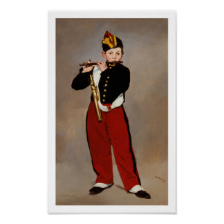 Manet - The Fifer (also called The Fife Player) Poster