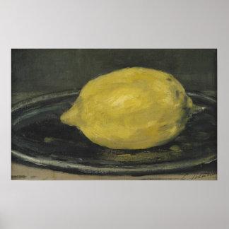 Manet | The Lemon, 1880 Poster