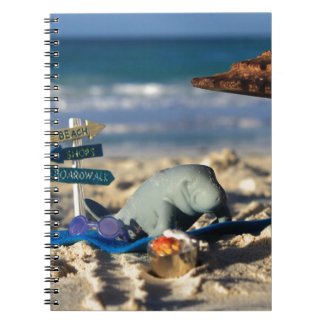 Manfred the Manatee at the Beach Notebooks